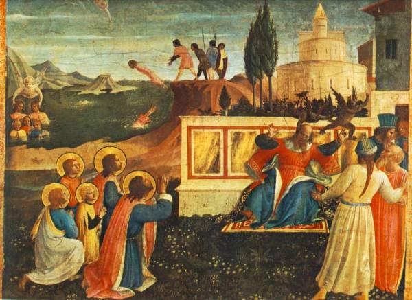 Saint Cosmas And Saint Damian Condamned
